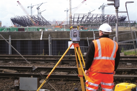 The inside track on railway surveying