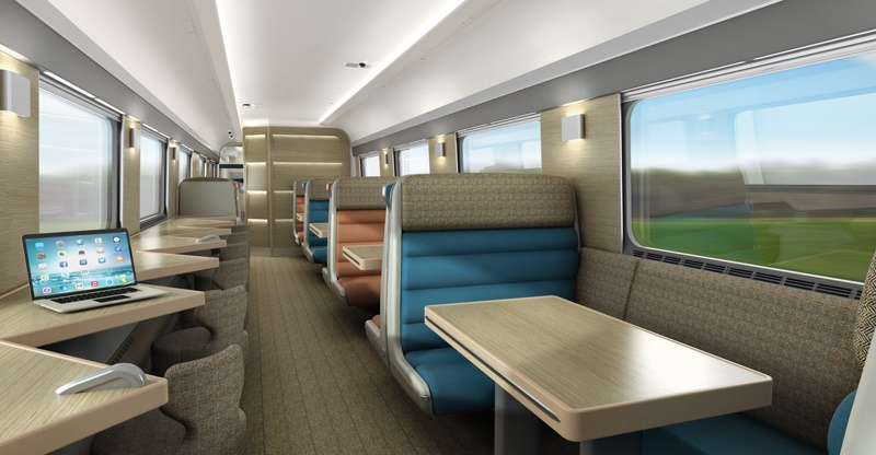 Sneak peek at new £150m Caledonian Sleeper carriages