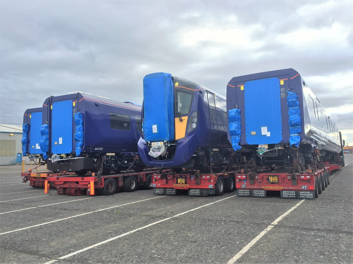 ScotRail Class 385s undergo 100mph testing in Czech Republic