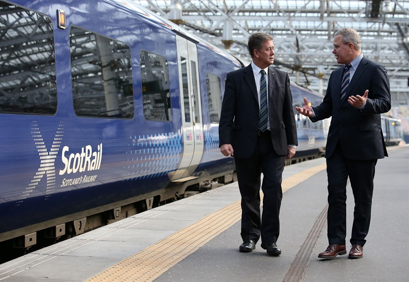 Abellio CEO unveils ambitious smart ticketing plans for ScotRail