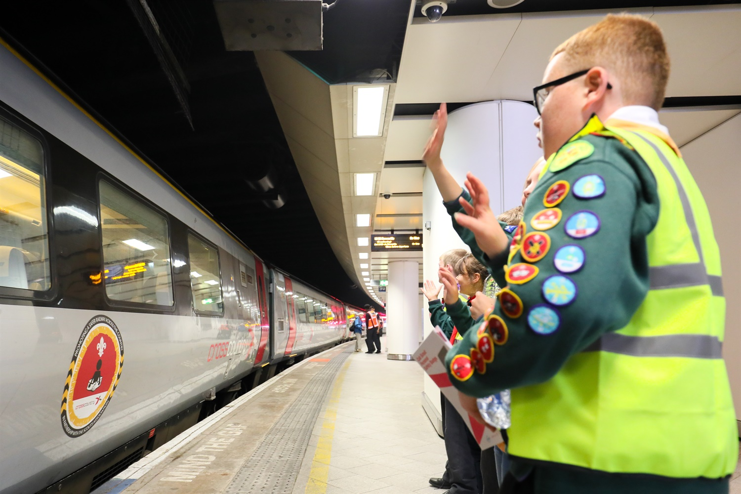 CrossCountry partners with Scouts to push rail safety education initiative