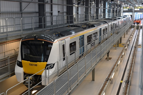 First Class 700 arrives in the UK for testing