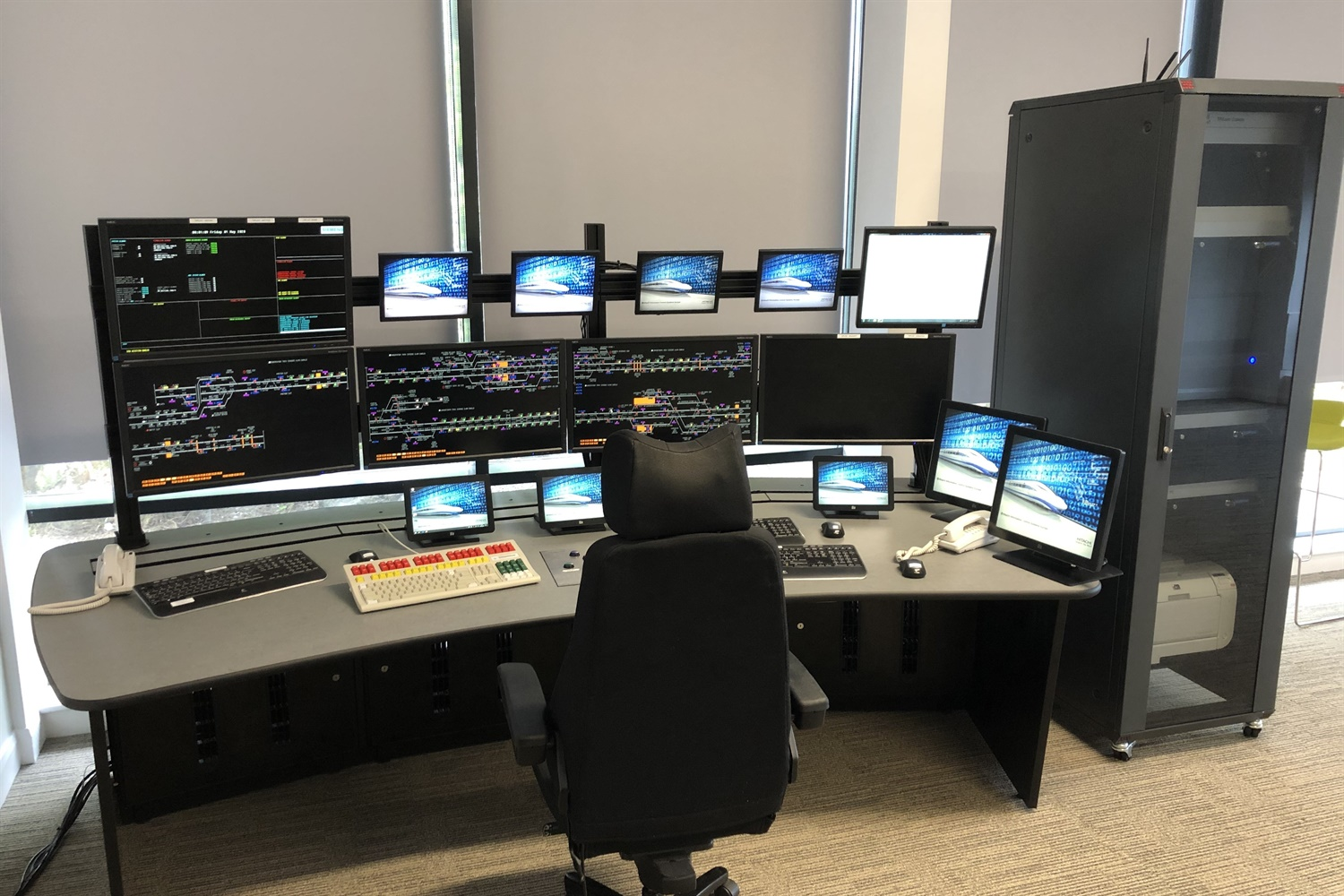 New West Midlands railway signallers training facility