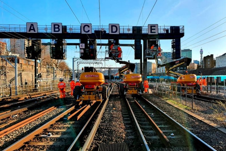Network Rail invests over £100m to upgrade network over Easter