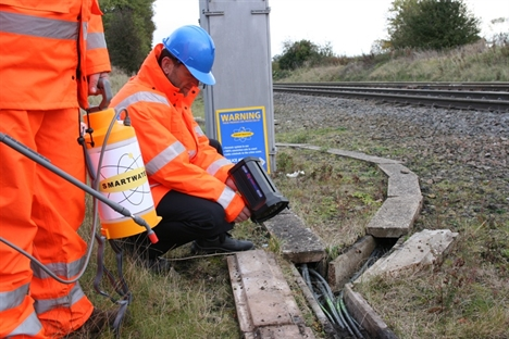 SmartWater extends contract with Network Rail