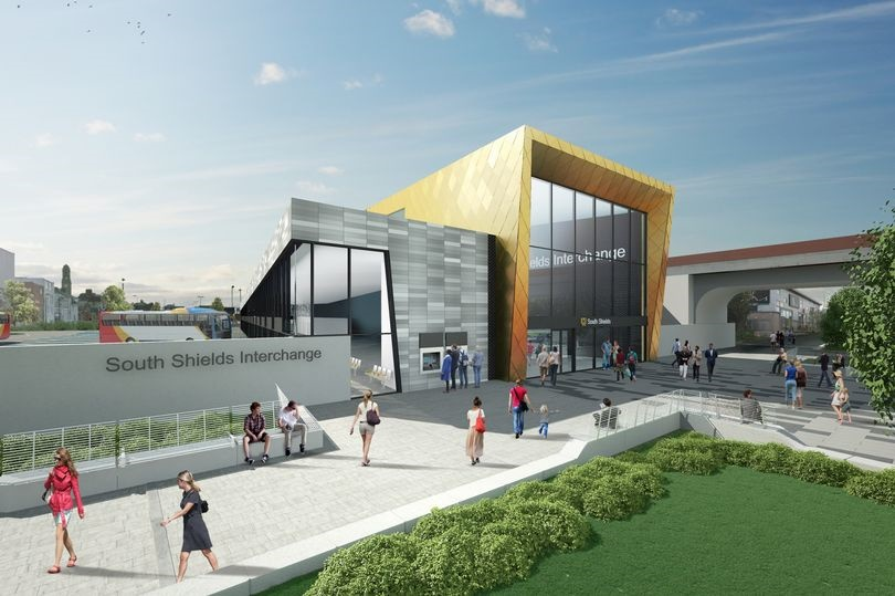 First work starts on 'modern and vibrant' £100m South Shields transport hub