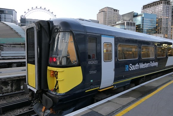 South Western Railway welcomes their newly refurbished trains