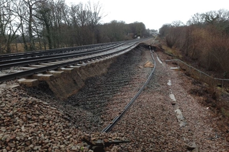 Southeastern pays £1.6m in compensation after landslips