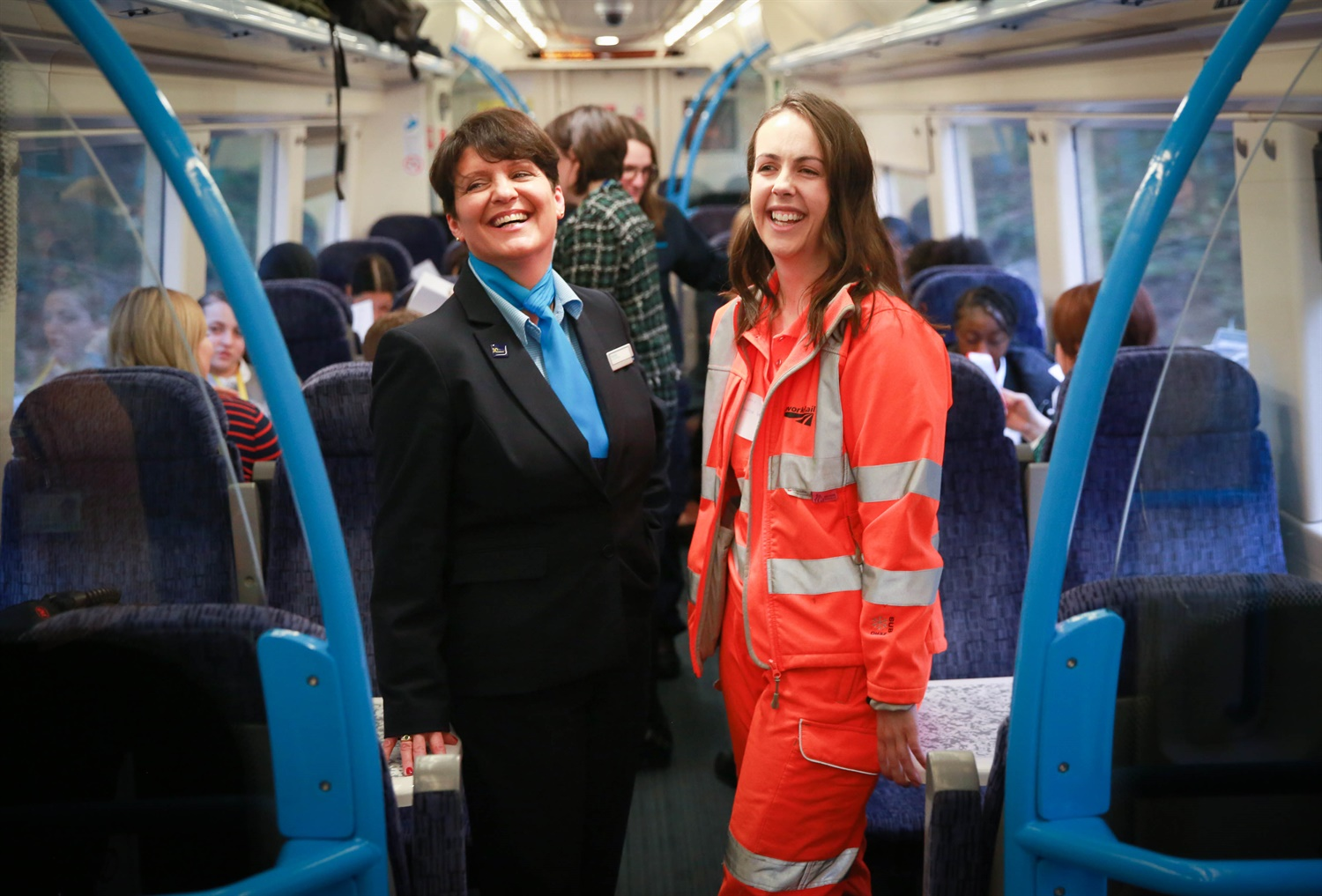 Britain's first all female operated train service runs today