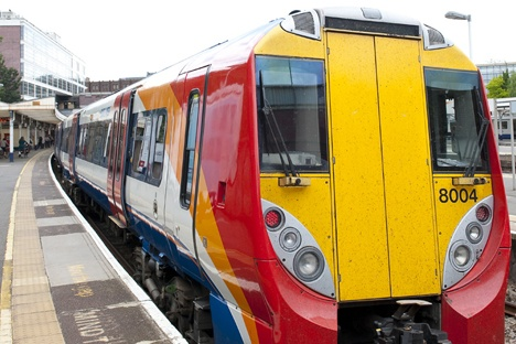 Green braking for South West Trains