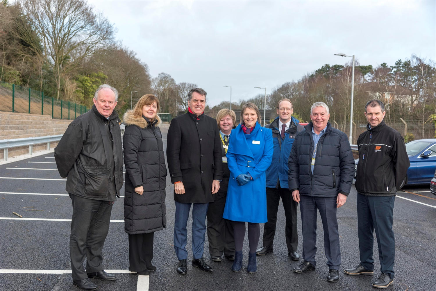 £400k project expands car parks for Spital station
