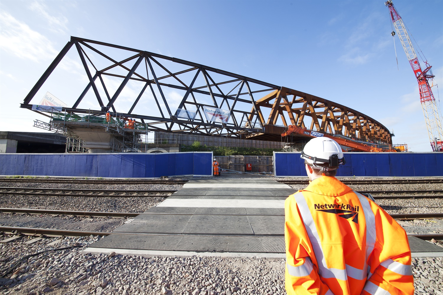 Crossrail's surface works one-third complete