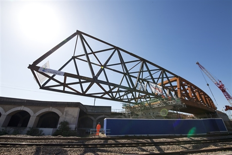 Stockley flyover launched for Crossrail