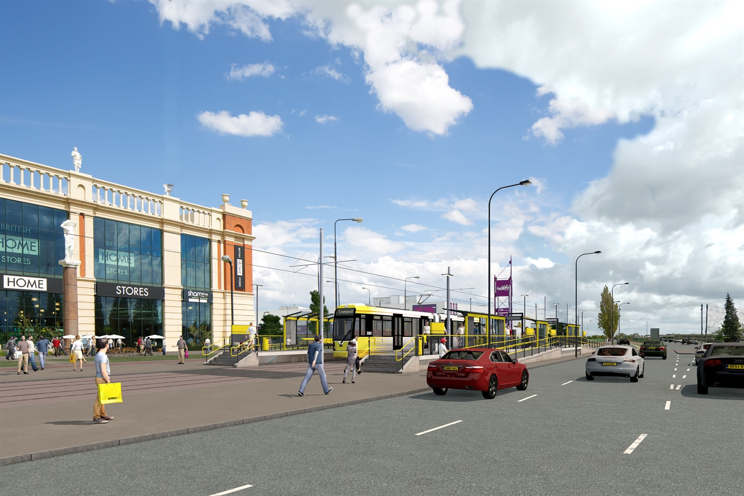 MPT wins £350m contract to build Metrolink's Trafford Park extension