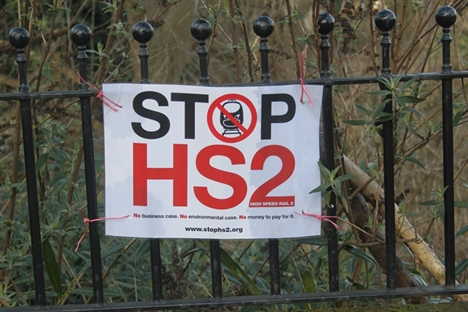 Anti-HS2 groups tell MPs why they should be heard