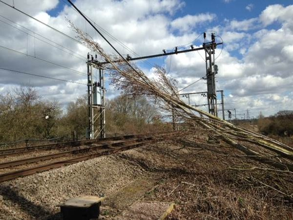 Storm Doris wreaks havoc across UK as London Midland Cross City line remains closed