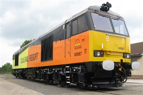 Colas buys 10 Class 60 locos from DB Schenker