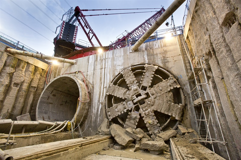 Docklands and south-east London Crossrail tunnels complete