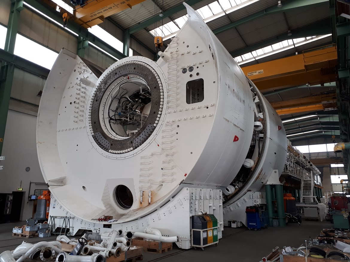 HS2: Tunnel Boring Machines first images revealed