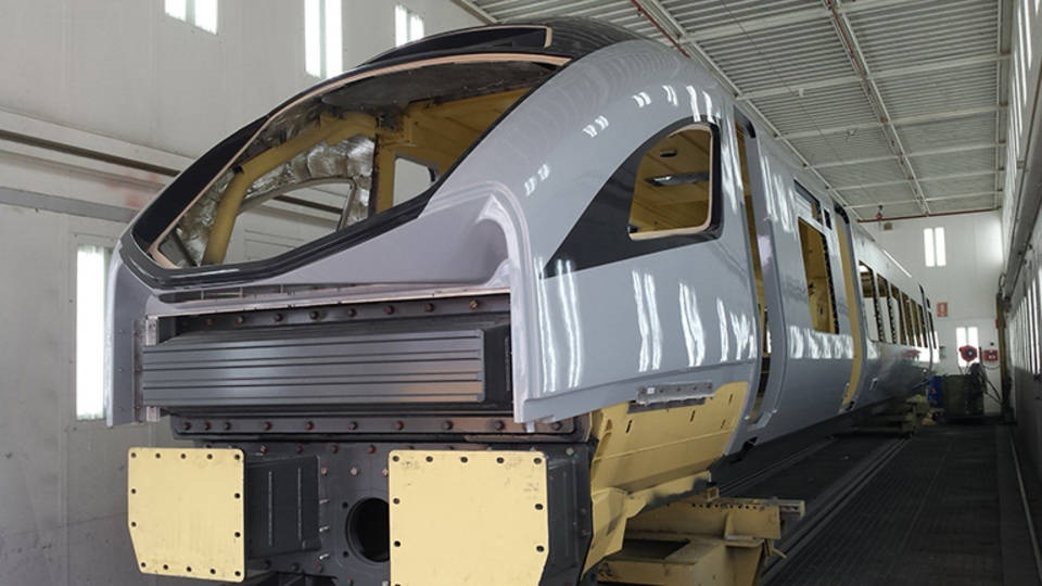 Testing begins on TPE's new CAF trains