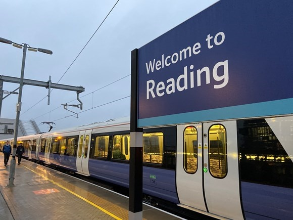 TfL Rail has begun operating services between London Paddington and Reading