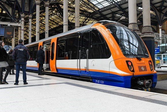 New electric London Overground trains introduced at London Liverpool Street