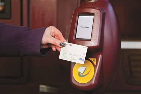 TfL rail services to introduce contactless fares in September