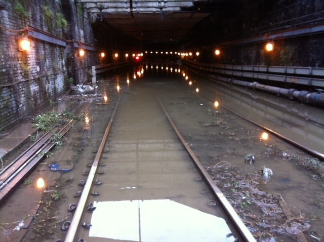 Network Rail and Thames Water argue over Thameslink flooding