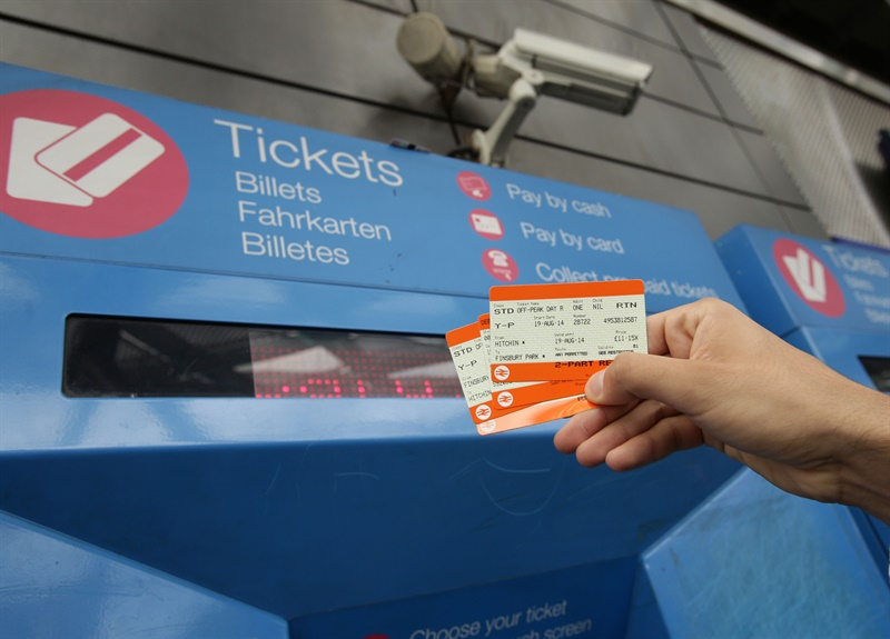 RDG announces average 2.2% increase in rail fares for 2015