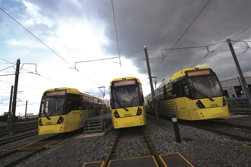 Momentum builds for Metrolink extension works at Trafford