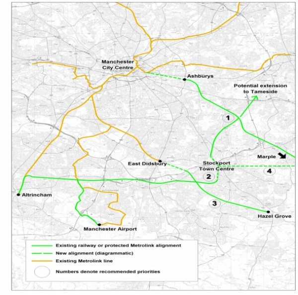 Stockport closer to being connected to Metrolink with a tramtrain