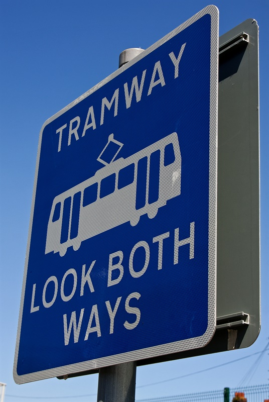 Tramway sign