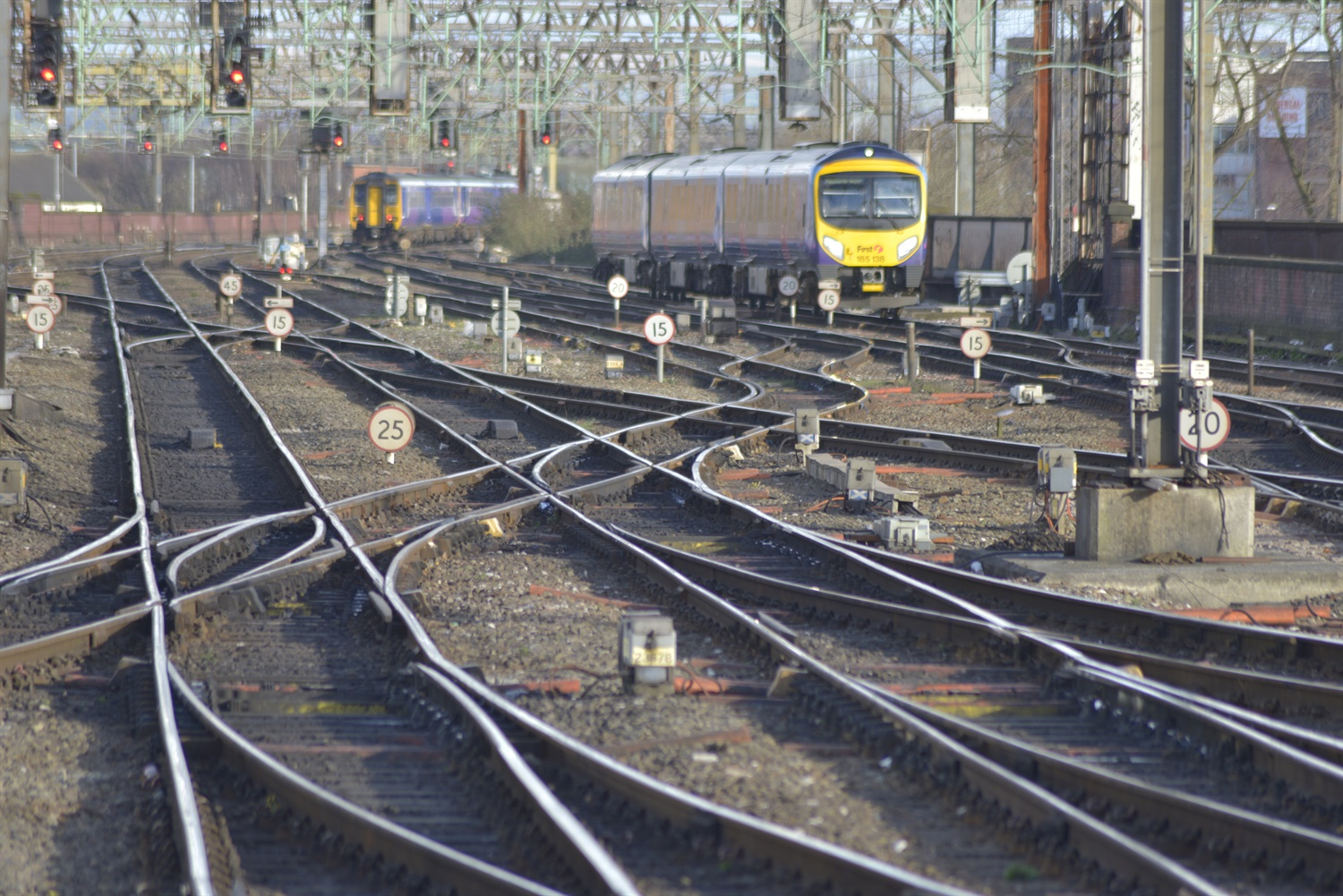 Trains still running late despite emergency timetables in operation