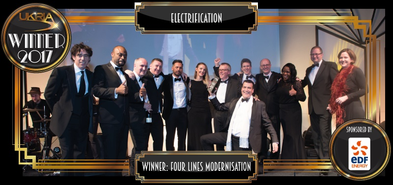 Four Lines Modernisation - Electrification