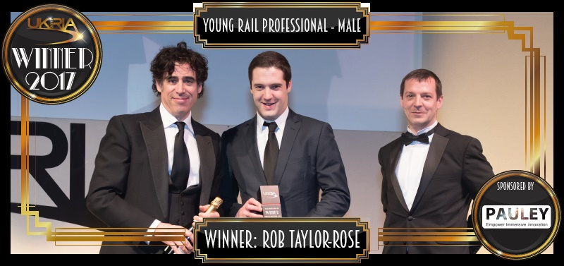 Rob TaylorRose - Young Rail Professional Male