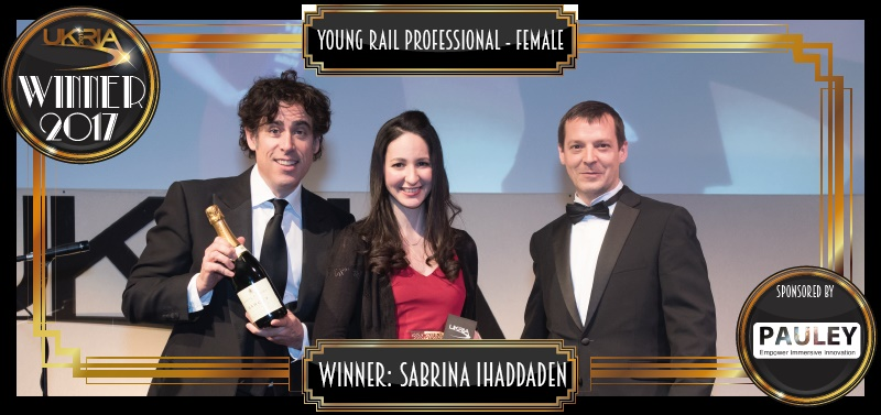 Sabrina Ihaddaden - Young Rail Professional Female