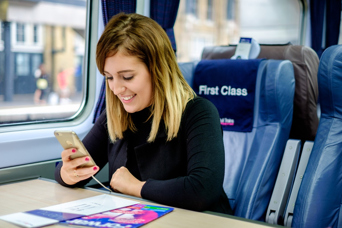 First Hull Trains to trial USB charging