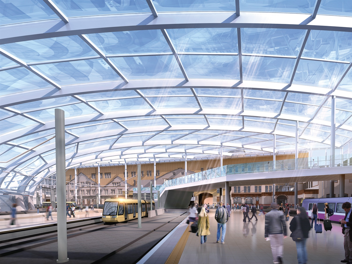 Manchester Victoria Metrolink stop will open in February – NR