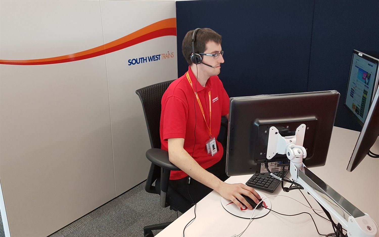South West Trains opens first video customer contact centre