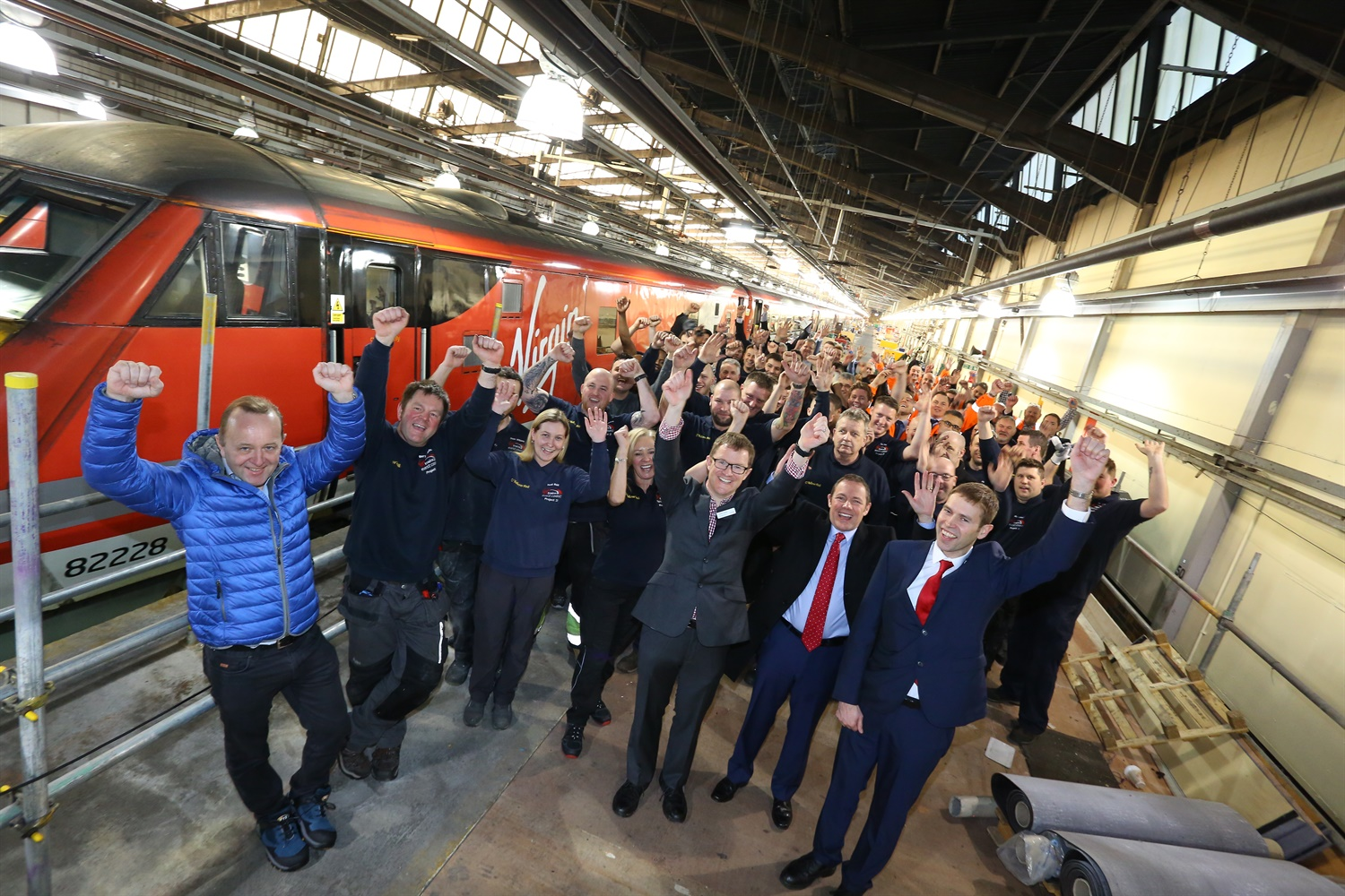 Virgin Trains completes £40m East Coast fleet refurbishment