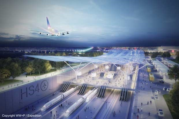 Ambitious £10bn plans for Gatwick Heathrow HS4Air rail service rejected