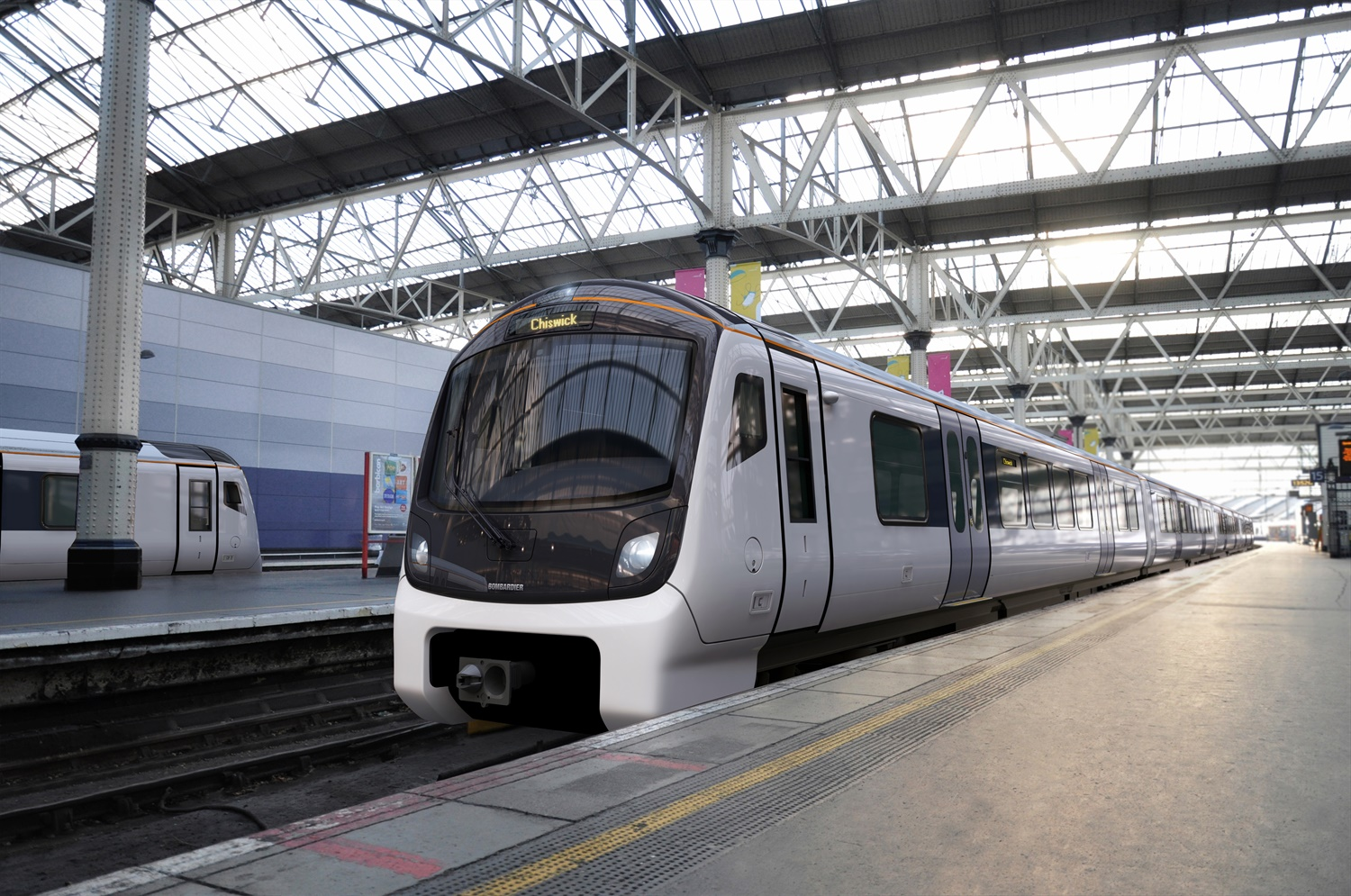 First MTR signs £895m deal with Bombardier for new SWT trains
