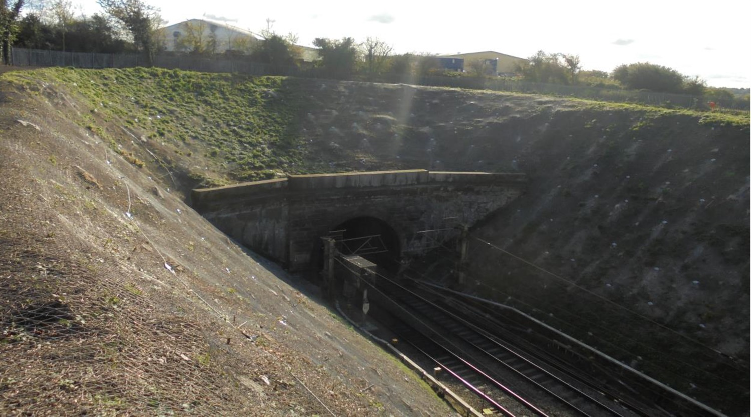 Watford Tunnel approach completed work c.Network Rail