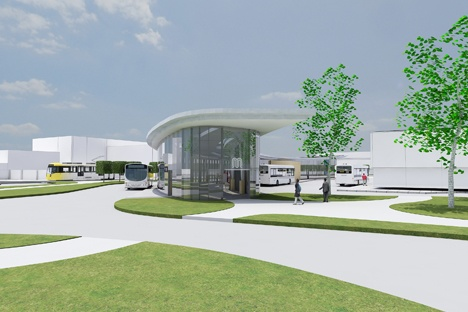 Tram-bus interchange plans for Wythenshawe