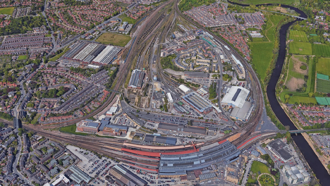 New access to York station as part of major brownfield redevelopment plans