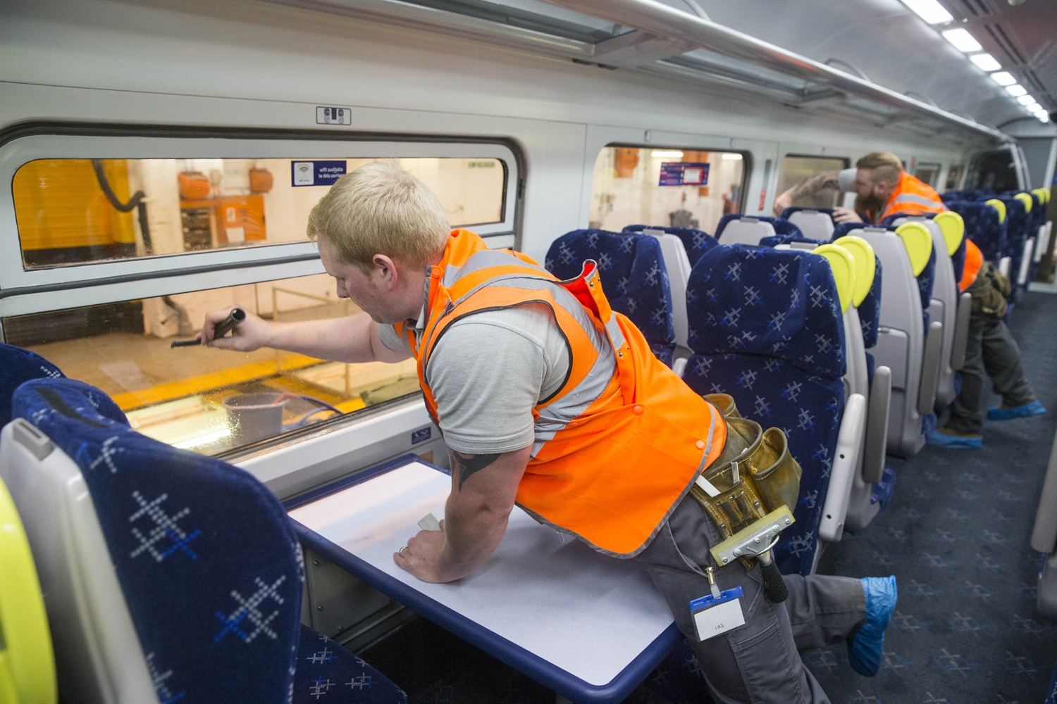 ScotRail unveils first of 40 restored Class 158s