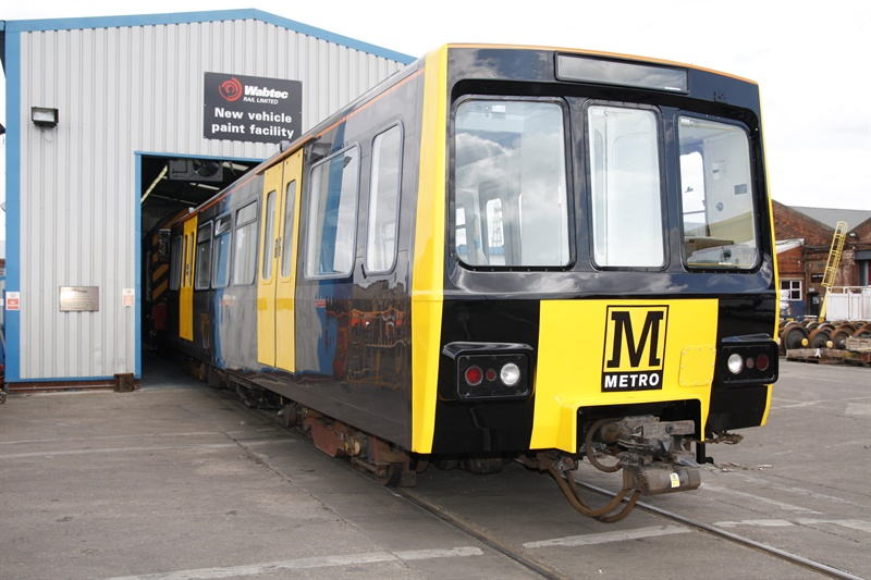 Cab radio upgrade for Tyne and Wear Metro