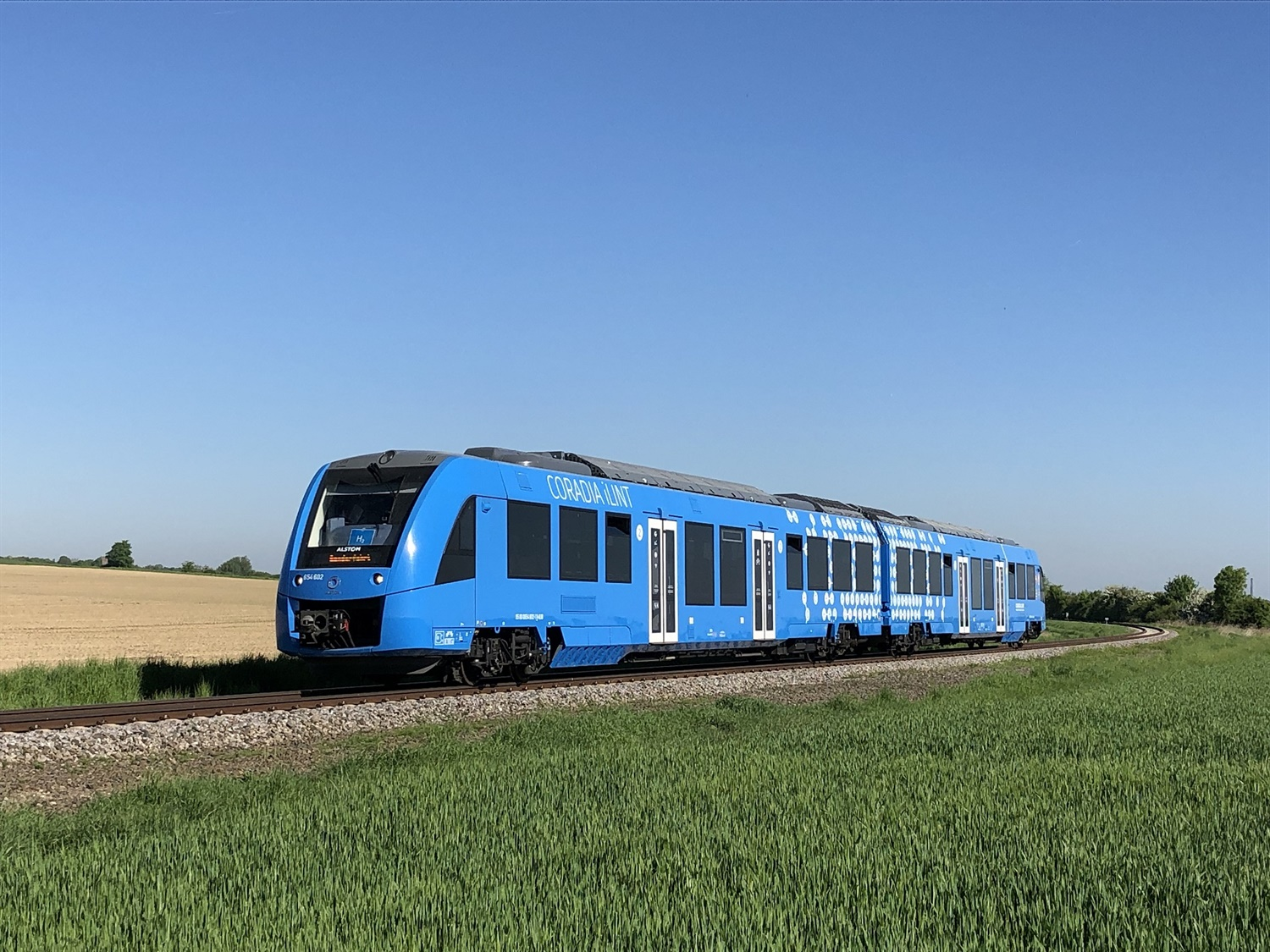 Alstom's world first hydrogen train completes tests in the Netherlands