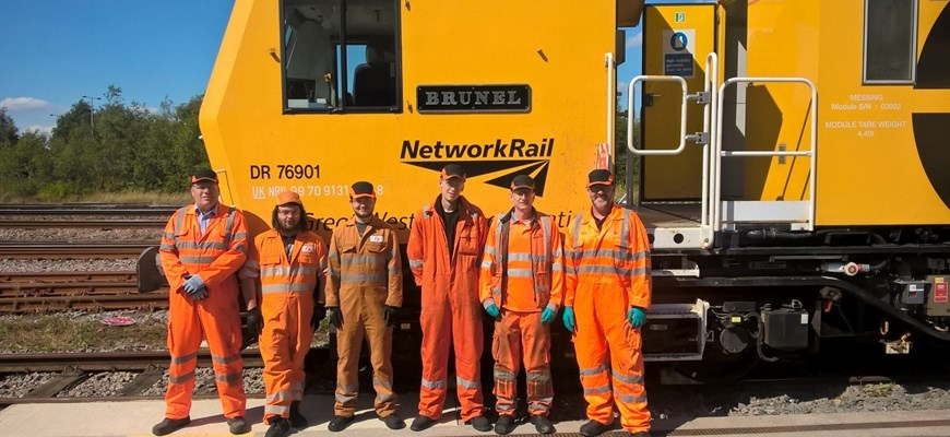 Skills swap: GWR and Amey apprentices trade places