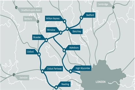 Oxford-Bicester upgrades combined with East West Rail